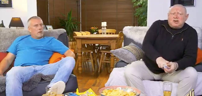 Shaun Ryder and Bez have been having drug-related chats on Celebrity Gogglebox