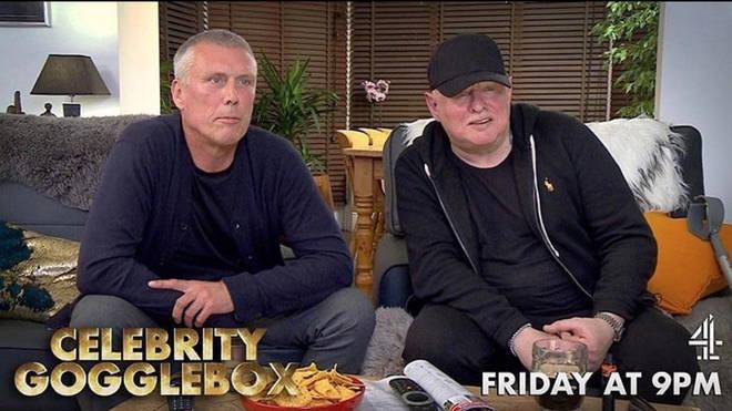 Shaun Ryder and Bez have returned to Celebrity Gogglebox