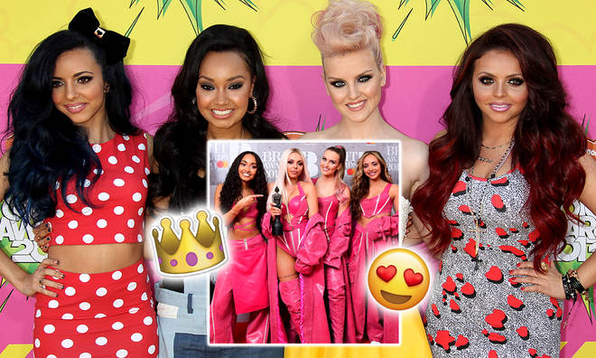 Before and after pictures of Little Mix prove they've always been style queens