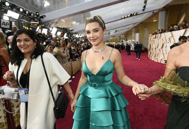 Florence Pugh was nominated for her first Academy Award for her role in Little Women