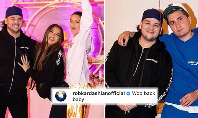 Rob Kardashian shows off dramatic weight loss at Khloé's birthday party