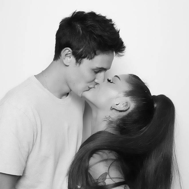 Ariana Grande makes it Instagram official with Dalton Gomez