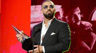 Drake 2016 American Music Awards