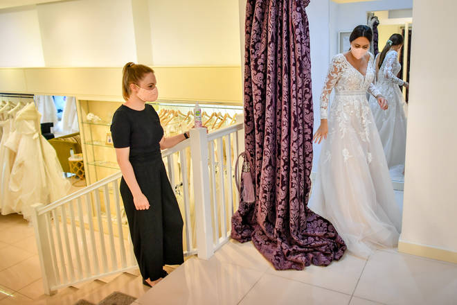 Weddings continuing in 2020 will look very different