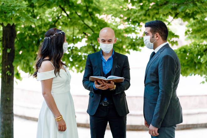 Wedding venues must be Covid safe