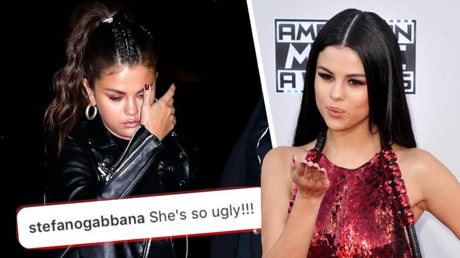 "Selena Gomez Responding To Gabbana&squot;s ""Ugly"" Comment"
