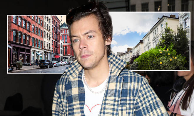 Harry Styles has houses in New York and London