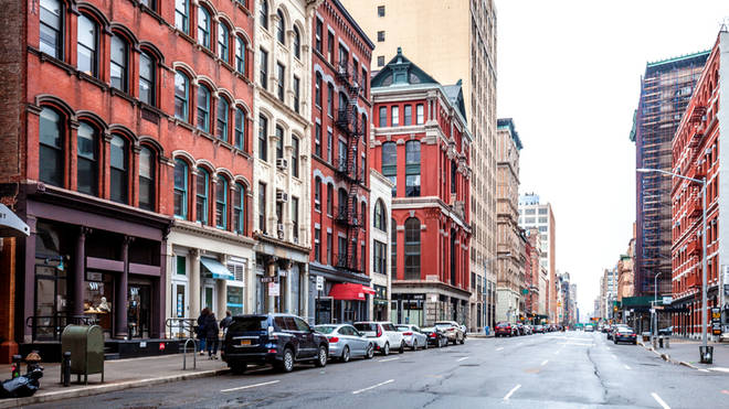 A lot of celebrities live in the Tribeca neighbourhood in NYC