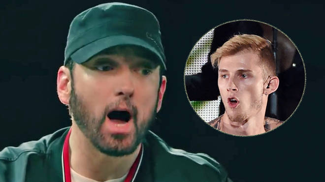Eminem Reveals Real Reason He Dissed Machine Gun Kelly