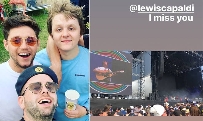Niall Horan has recalled his time at Glastonbury 2019