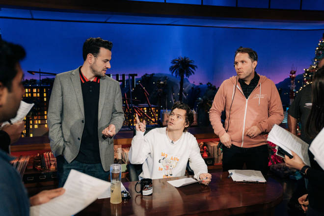Ben Winston is a producer on The Late Late Show