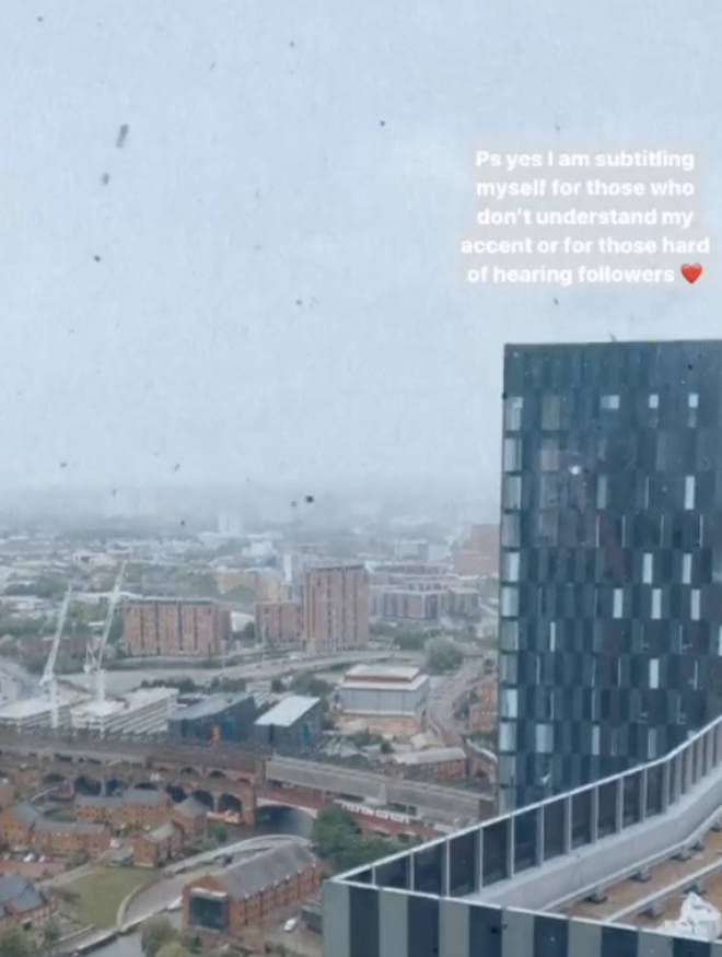 Paige Turley has started transcribing her Instagram stories