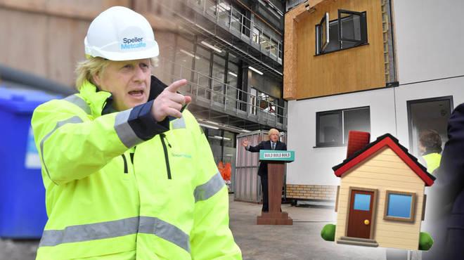 Boris Johnson has announced a new affordable housing scheme