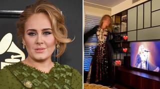 Adele gave a glimpse inside her LA mansion