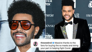 The Weeknd has given very generous donations this month