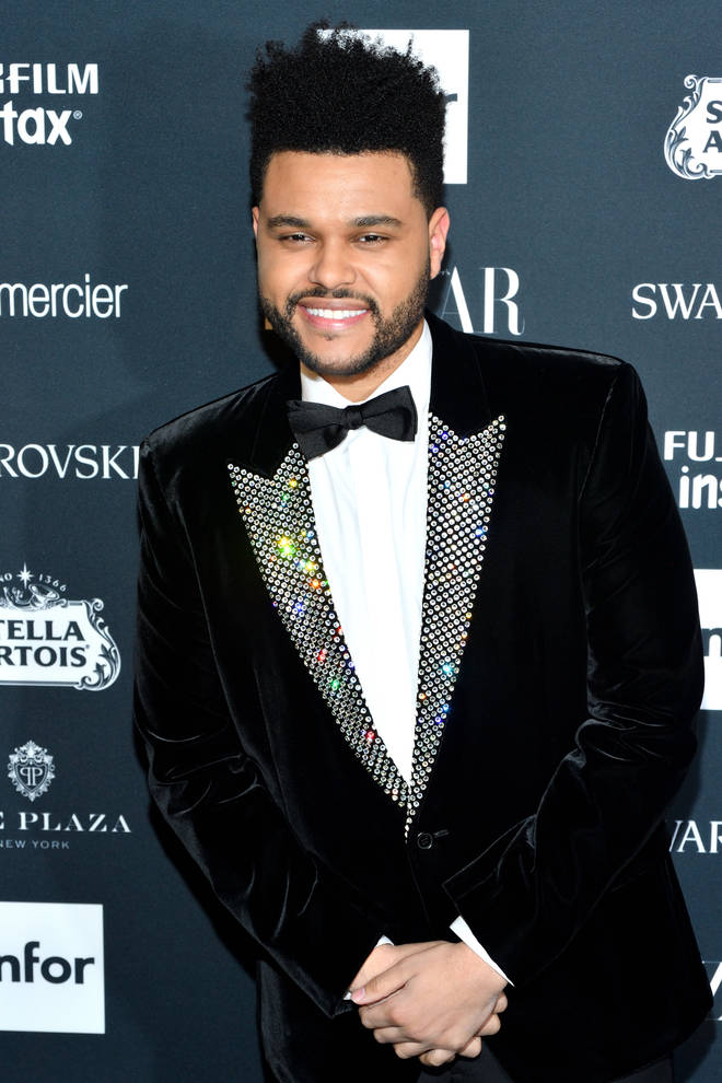 The Weeknd sold XO face masks to raise money for COVID-19 relief efforts