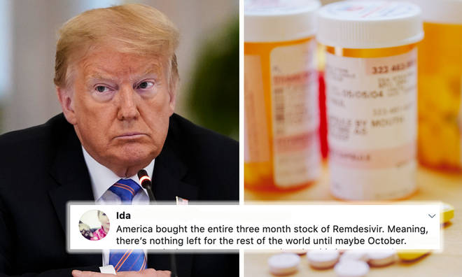 Donald Trump buys entire supply of COVID-19 drug for USA