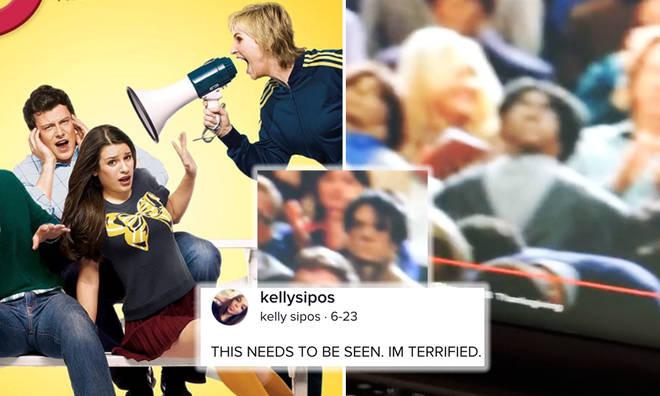 Tiktok video shows Glee using dummies in crowd scenes