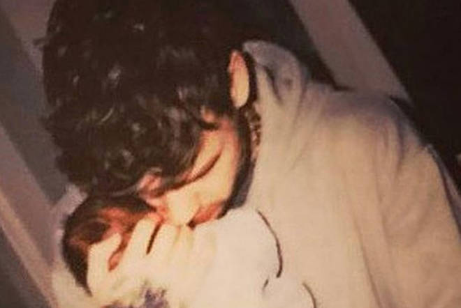 Liam Payne with son Bear, who just turned 3