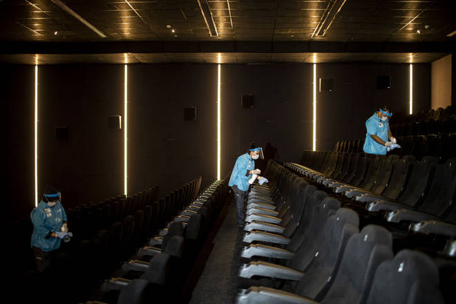 Cinemas will have extra cleaning schedules