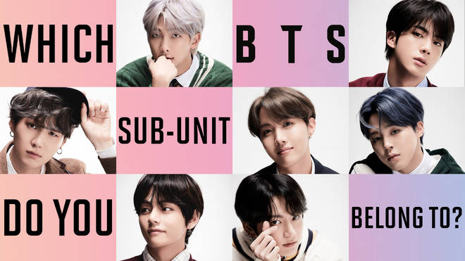 Which BTS sub-unit do you belong to?