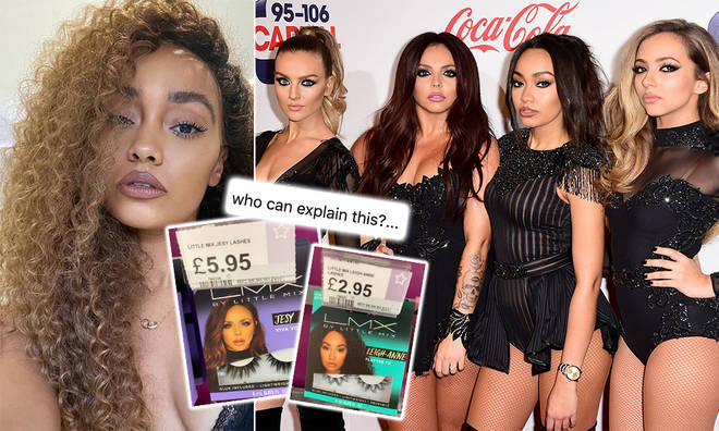 Little Mix fans were confused about the price of Leigh-Anne Pinnock's false lashes