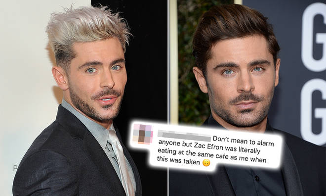Zac Efron has been spotted in Australia by fans
