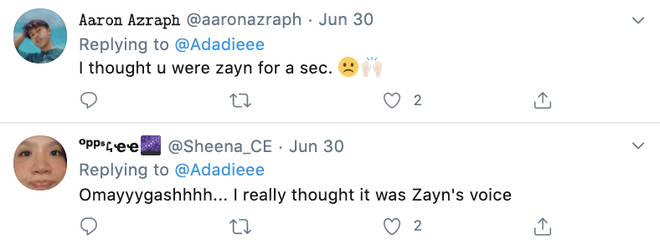 1D fans mistook the singer for Zayn Malik