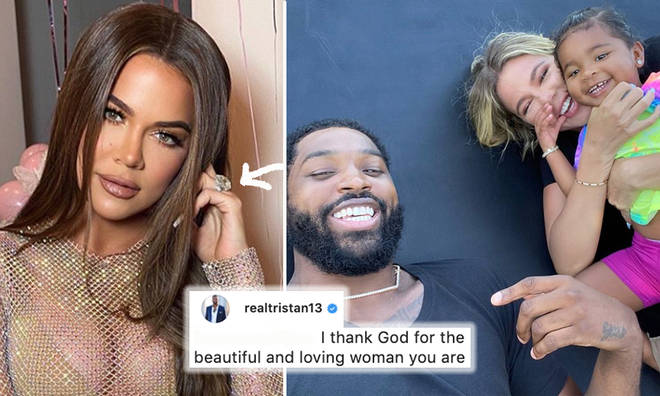 Khloe Kardashian and Tristan Thompson fuelled speculation they're back together