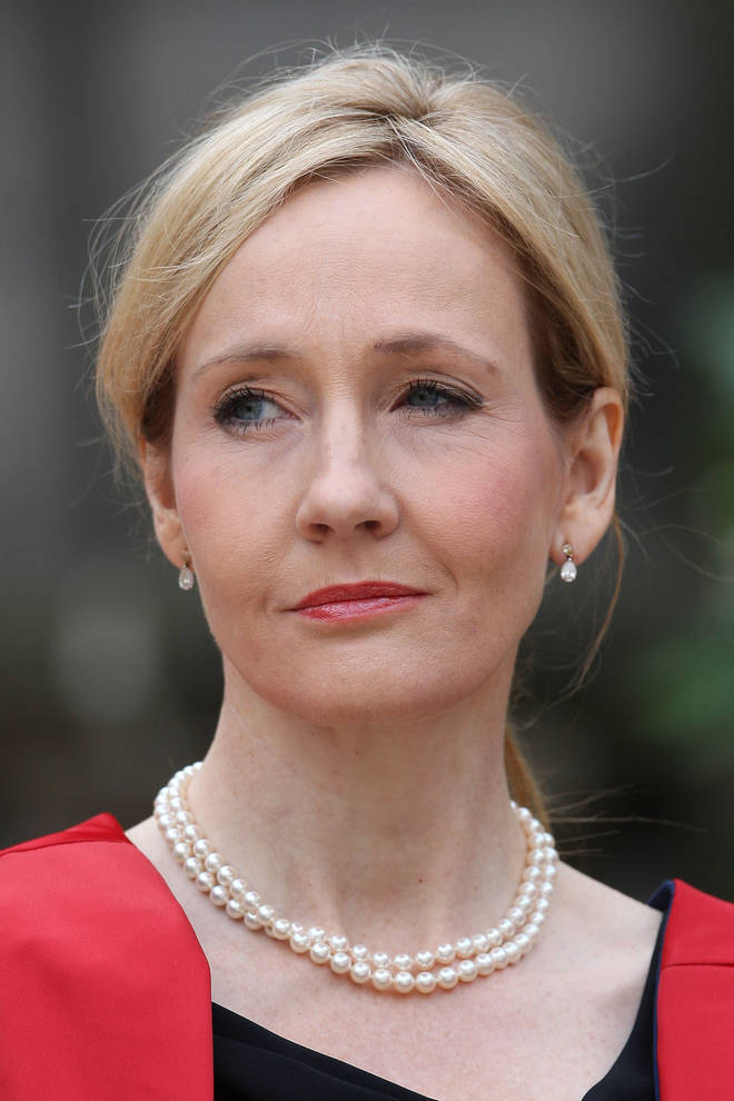 JK Rowling's comments have been slammed by fans.