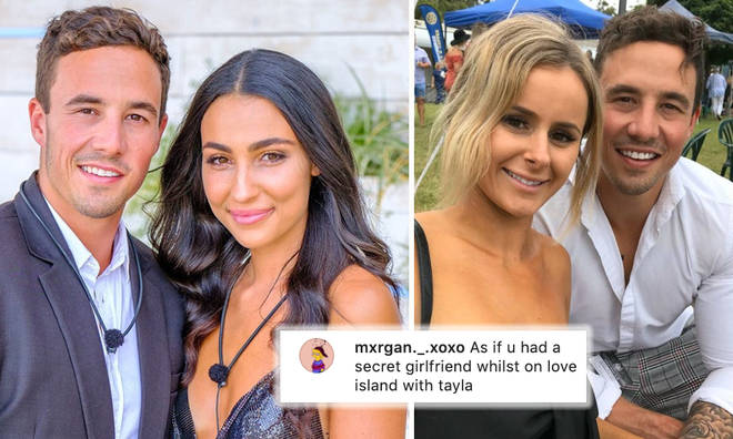 Grant Crapp accused of having secret girlfriend whilst with Tayla Damir