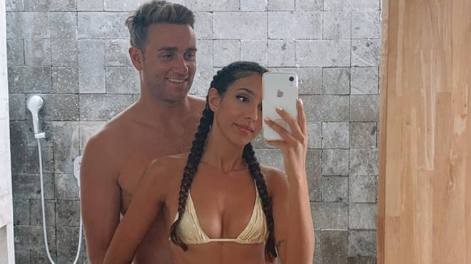 Josh Moss and Amelia Plummer have been fighting off engagement rumours