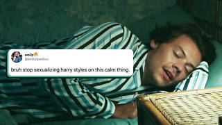 Fans want to stop sexualising Harry Styles' appearance on Calm app