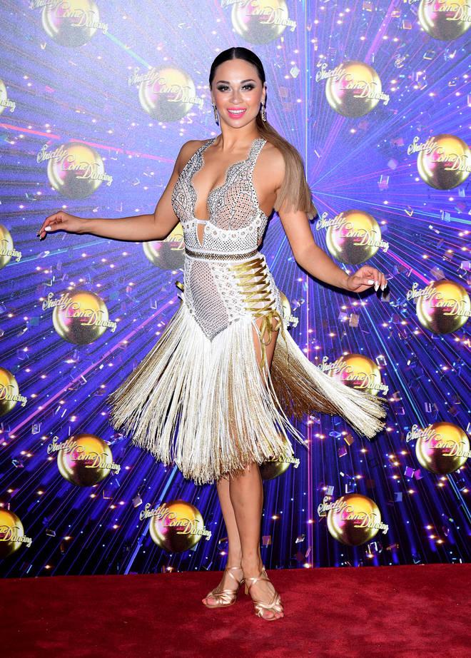 Katya Jones has apparently said she would have a same-sex partner