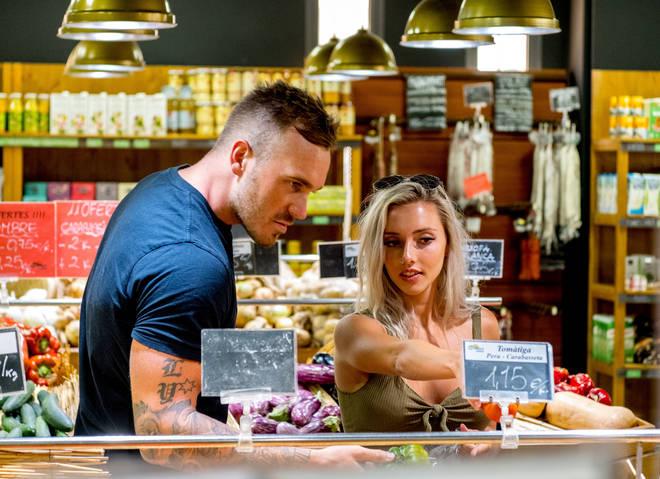 Eden asked Erin to be his girlfriend on Love Island Australia