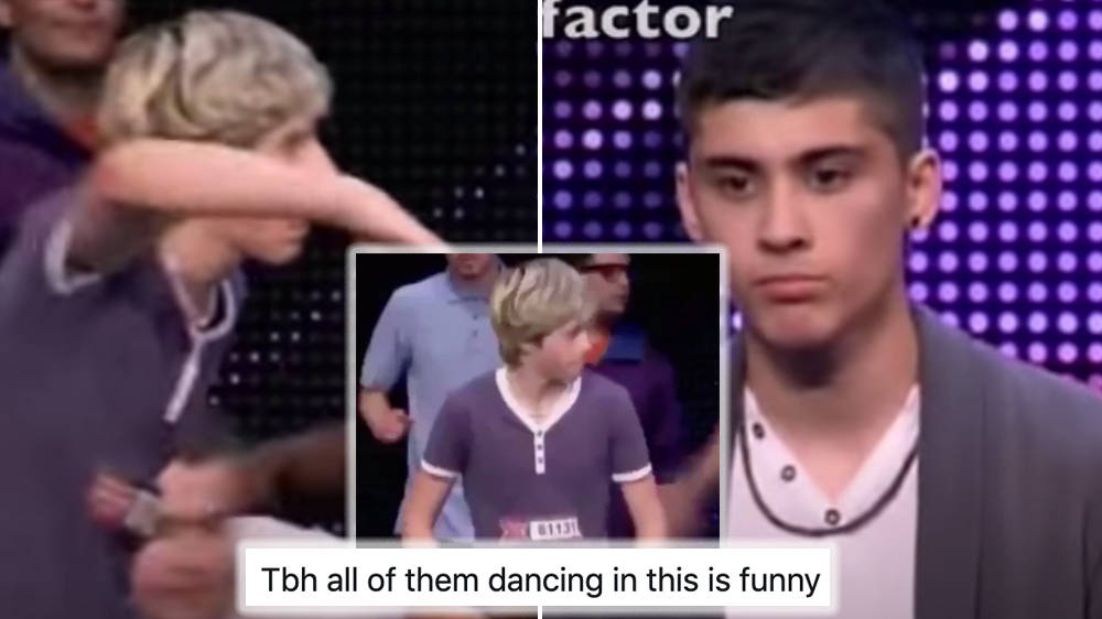 Niall Horan's hilarious X Factor dance audition has fans wondering why Zayn's gets dragged