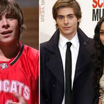 Zac Efron was only a baby when he appeared in the first High School Musical movie!