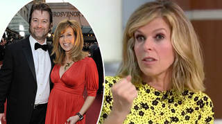 Kate Garraway appeared on Good Morning Britain to give an update on Derek