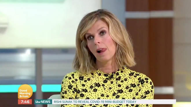 Kate Garraway made an emotional appearance on GMB
