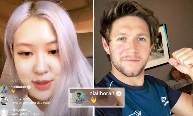 Niall Horan Dropped By BLACPINK's Instagram Live & We Need The Collab Right  Now - Capital