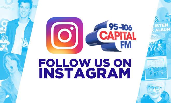 Follow us on Instagram - Capital