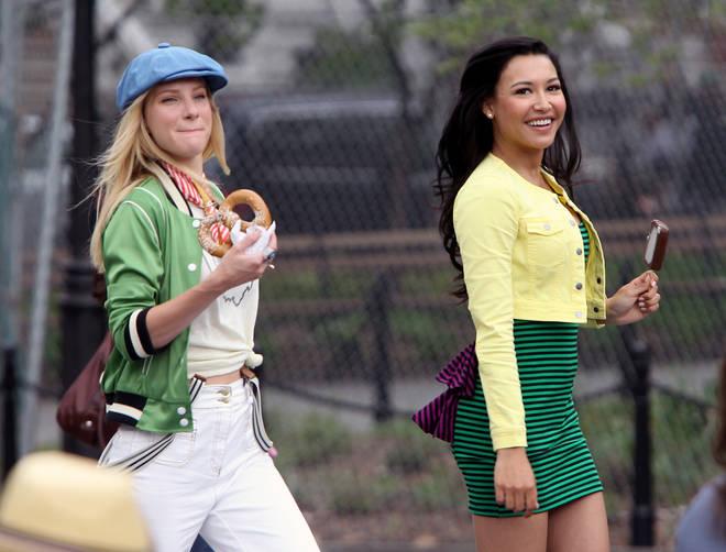 Naya Rivera starred as Santana Lopez in Glee