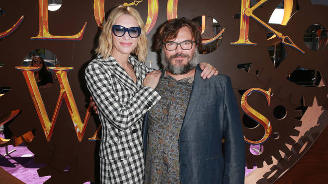 Cate Blanchett and Jack Black Premiere Of Universal Pictures' 'The House With A Clock In Its Walls'
