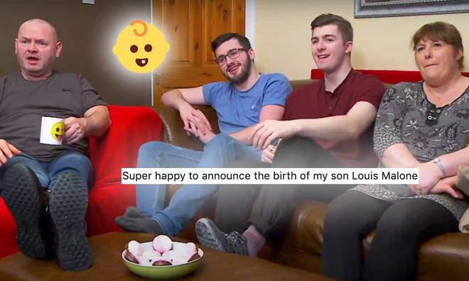 Gogglebox star Shaun Malone has welcomed a baby!