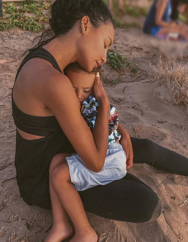 Naya Rivera was swimming with son Josey when she went missing