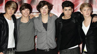 One Direction finished in third place on The X Factor.