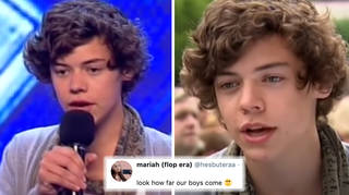 Harry Styles auditioned for the X Factor ten years ago