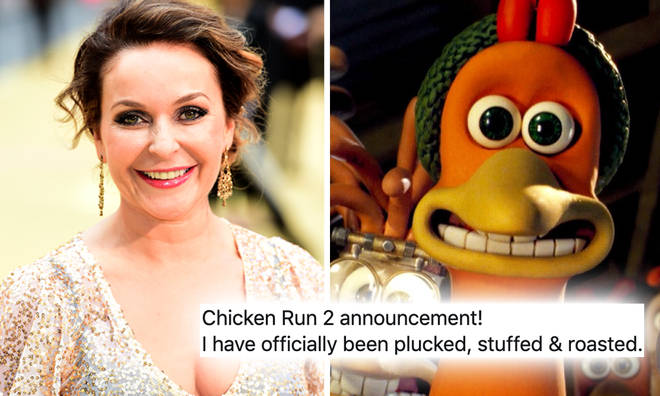Julia Sawalha will not return for the Chicken Run sequel.
