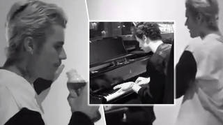 Shawn Mendes and Justin Bieber jamming together proves they're mates