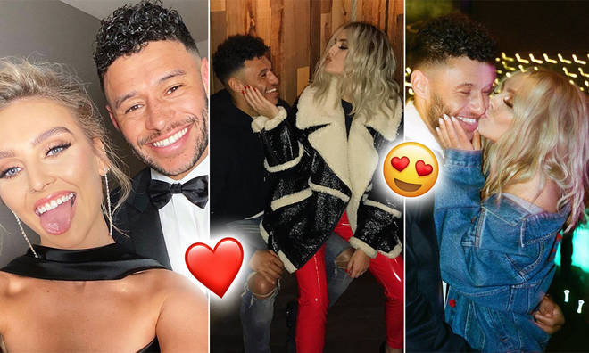 Perrie Edwards and Alex Oxlade-Chamberlain have been together for three years